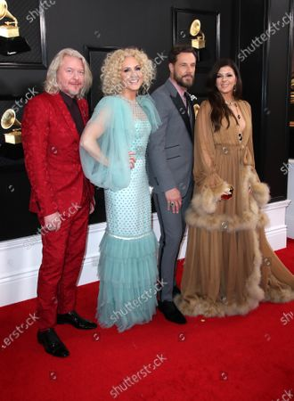 Phillip Sweet, Kimberly Schlapman, Jimi Westbrook and Karen Fairchild of Little Big Town
