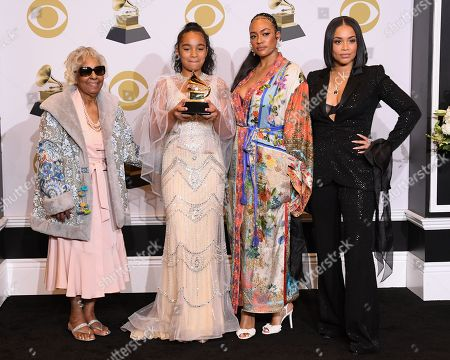 Editorial photo of 62nd Annual Grammy Awards, Press Room, Los Angeles, USA - 26 Jan 2020