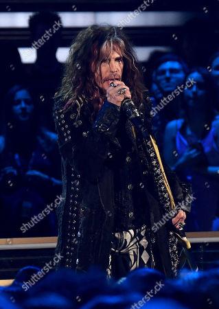 Stock Picture of Aerosmith - Steven Tyler