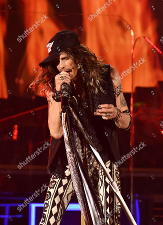 Stock Picture of Aerosmith - Steven Tyler