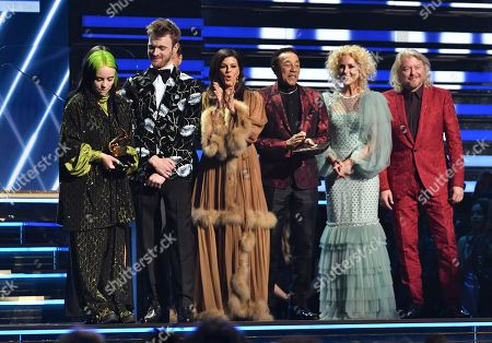 Billie Eilish and Finneas O'Connell - Song of The Year - Bad Guy - presented by Little Big Town and Smokey Robinson