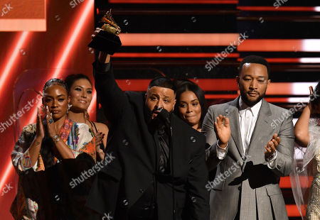 John Legend and DJ Khaled - Best Rap/Sung Performance of the Year - Higher - with the family of Nipsey Hussle