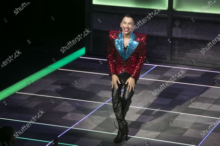 Bianca Del Rio (Hugo/Loco Chanelle) during the curtain call