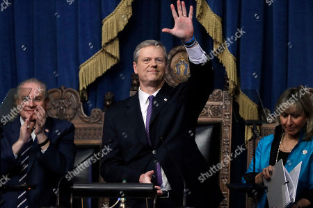 Editorial picture of State of the State Massachusetts, Boston, USA - 21 Jan 2020