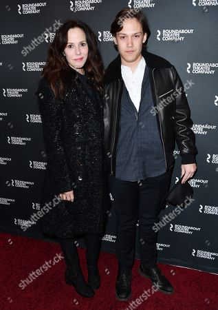 Mary-Louise Parker and William Atticus Parker