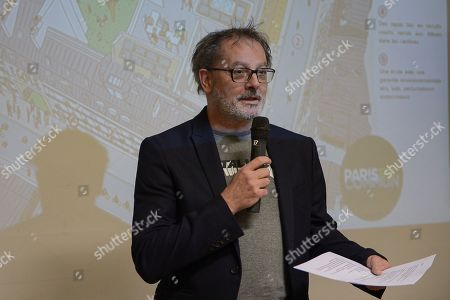 Editorial photo of 'City of Fifteen Minutes' press conference, Paris, France - 21 Jan 2020