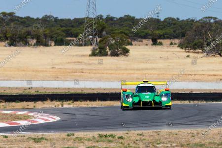The number 33 Inter Europol Endurance LMP2 driven by John Corbett, Nathan Kumar, Mitchell Neilson during the race