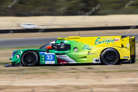 Stock Picture of The number 33 Inter Europol Endurance LMP2 driven by John Corbett, Nathan Kumar, Mitchell Neilson during the race