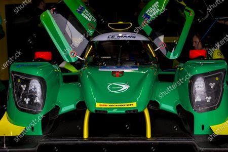 The number 33 Inter Europol Endurance LMP2 driven by John Corbett, Nathan Kumar, Mitchell Neilson during the team test