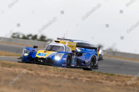 Stock Photo of The number 36 Eurasia Motorsport LMP2 driven by Aidan Read, Nicholas Foster, Roberto Merhi during the team test