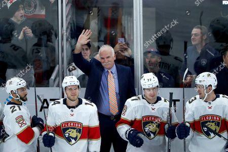 Editorial image of Panthers Blackhawks Hockey, Chicago, USA - 21 Jan 2020