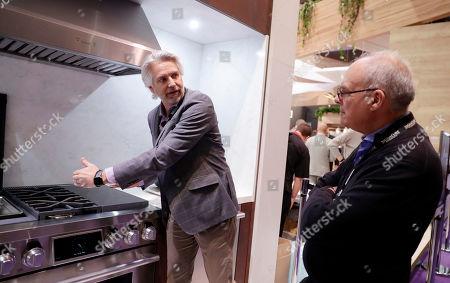 Editorial image of LG at 2020 Kitchen & Bath Industry Show, Las Vegas, USA - 21 Jan 2020