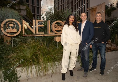 Editorial photo of The One Love Hotel opening presented by Mastercard, Los Angeles, USA - 21 Jan 2020