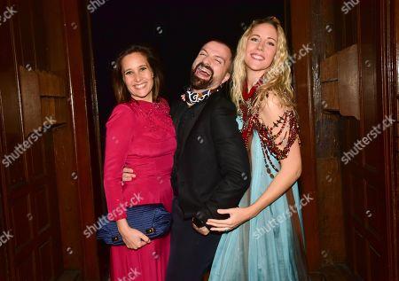 Julie De Bona, Julien Fournie and Sandy Heribert