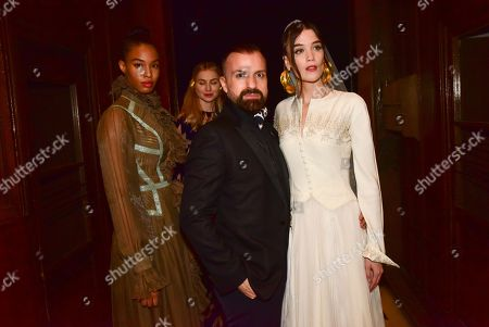 Julien Fournie with models