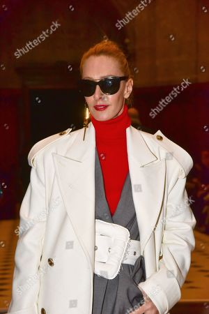 Editorial photo of Julien Fournie show, Front Row, Spring Summer 2020, Haute Couture Fashion Week, Paris, France - 21 Jan 2020