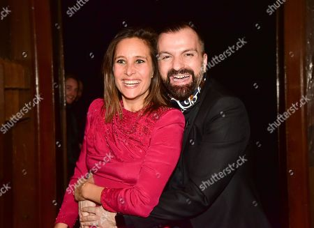 Julie De Bona and Julien Fournie