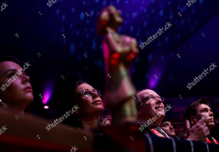 Prince Albert II of Monaco and Princess Stephanie pose with the Martinez brothers during the gala of the 44th Monte-Carlo International Circus Festival in Monaco. Princess Stephanie, Pauline Ducruet, left, Louis Ducruet, right, and Prince Albert II of Monaco attend the gala of the 44th Monte-Carlo International Circus Festival in Monaco