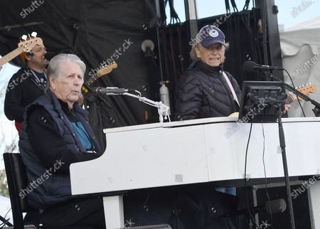 Stock Picture of The Beach Boys - Brian Wilson and Al Jardine