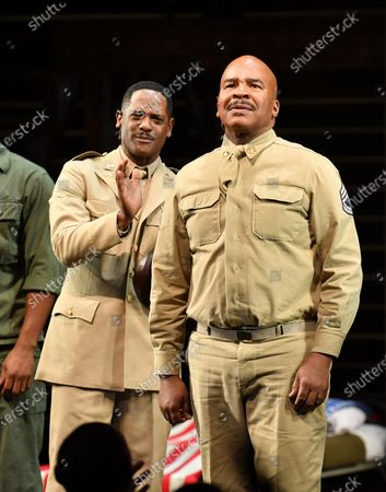 Blair Underwood and David Alan Grier
