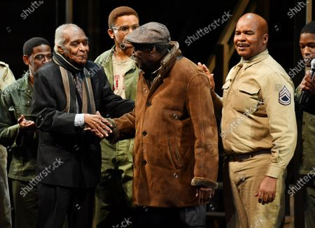 Editorial picture of 'A Soldier's Play' Broadway Opening, Curtain Call, New York, USA - 21 Jan 2020