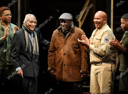 Editorial photo of 'A Soldier's Play' Broadway Opening, Curtain Call, New York, USA - 21 Jan 2020