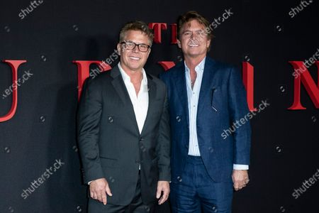Stock Picture of US screenwriters Carey W. Hayes (L) and Chad Hayes (R) pose on the red carpet prior to the premiere of Universal Picture film 'The Turning' at the TLC Chinese Theater in Hollywood, California, USA, 21 January 2020. The Turning is to be released in the US on 24 January 2020.