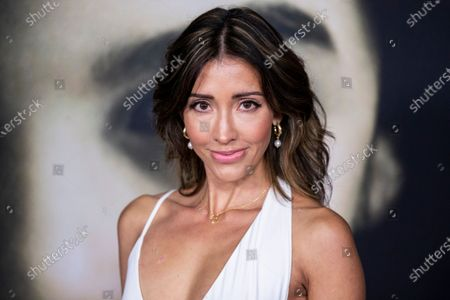Stock Image of Fernanda Romero poses on the red carpet prior to the premiere of Universal Picture film 'The Turning' at the TLC Chinese Theater in Hollywood, California, USA, 21 January 2020. The Turning is to be released in the the US on 24 January 2020.