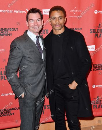 Jerry O'Connell and Nnamdi Asomugha