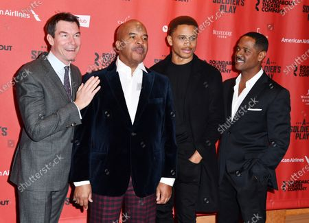 Jerry O'Connell, David Alan Grier, Nnamdi Asomugha and Blair Underwood