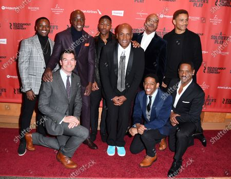 Stock Image of Warner Miller, Jerry O'Connell, McKinley Belcher III, Rob Demery, Kenny Leon, David Alan Grier, Jared Grimes, Nnamdi Asomugha, and Blair Underwood
