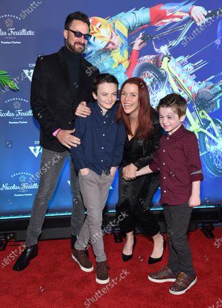 Editorial photo of Cirque du Soleil 'Volta' premiere, Arrivals, Los Angeles, USA - 21 Jan 2020