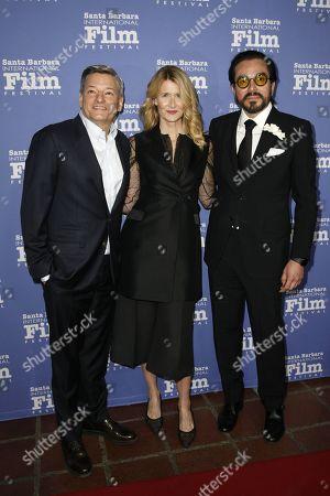 Ted Sarandos, Laura Dern, Roger Durling