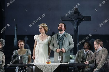 Anna Dowsley (Zerlina) and Richard Anderson (Masetto)
