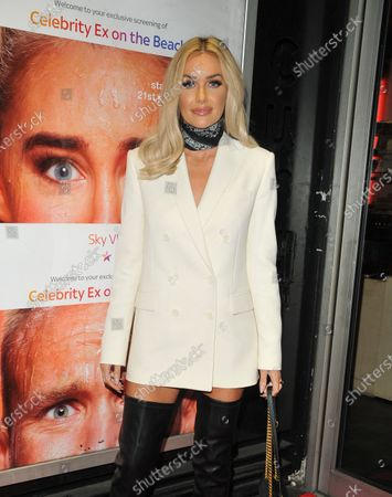 Editorial photo of 'Celebrity Ex On The Beach' TV show premiere, London, UK - 21 Jan 2020