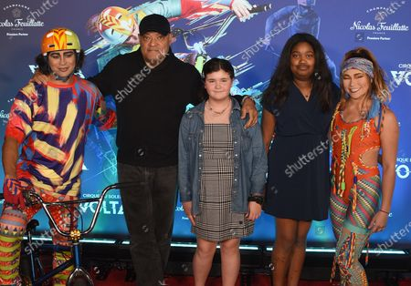 Laurence Fishburne and Family
