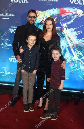 Editorial picture of Cirque du Soleil 'Volta' premiere, Arrivals, Los Angeles, USA - 21 Jan 2020