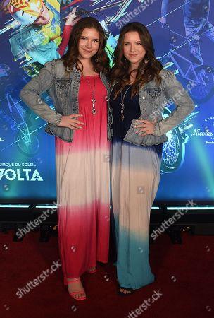 Chiara D'Ambrosio and Bianca D'Ambrosio