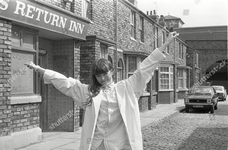 Editorial photo of 'Coronation Street' TV Show UK  - 1985