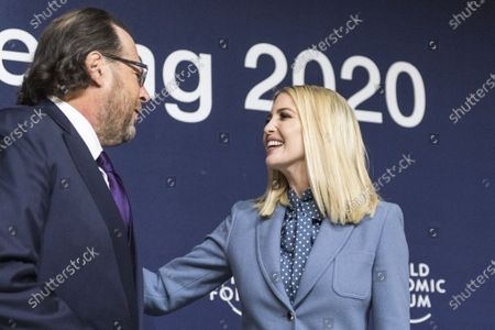 Editorial image of 50th annual meeting of the World Economic Forum in Davos, Switzerland - 22 Jan 2020