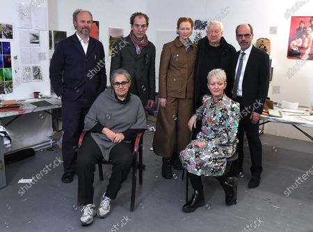 Alaster Upton, Julian Sands, Tilda Swinton, Michael Craig-Martin, Stephen Deuchar, Tacita Dean, and Maria Balshaw