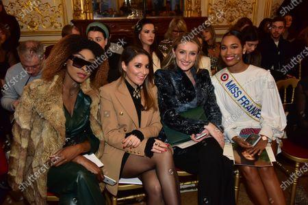 Eve Pamba, Mademoiselle Valerie Style, Clemence Botino Miss France 2020