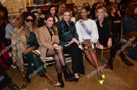 Eve Pamba, Mademoiselle Valerie Style, Clemence Botino Miss France 2020, Sylvie Tellier