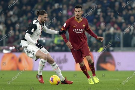 Editorial photo of Juventus v Roma, Coppa Italia, Quarter-final, Football, Allianz Stadium, Turin, Italy - 22 Jan 2020