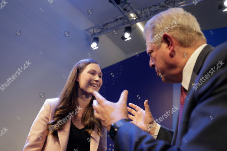 Editorial photo of Forum, Davos, Switzerland - 22 Jan 2020