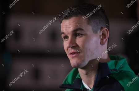 Ireland captain Jonny Sexton during the 2020 Guinness Six Nations Launch at Tobacco Dock, London.