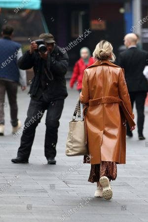 Editorial picture of Ashley Roberts out and about, London, UK - 22 Jan 2020