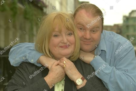 Relatively Speaking Feature......patsy Rowlands And Her Son Alan Sircom In London Today Also Collects From Patsy Of The Two Together In The 70's