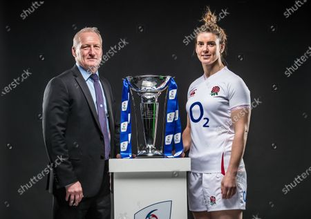 Editorial picture of 2020 Guinness Six Nations Championship Launch, Tobacco Dock, London, England - 22 Jan 2020