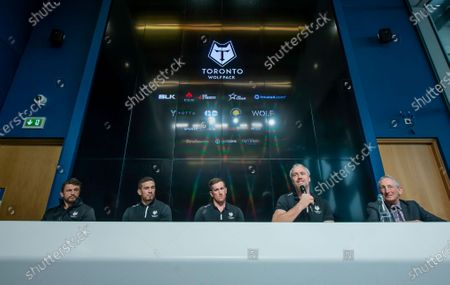 Editorial photo of Toronto Wolfpack Media Day. Manchester, UK - 22 Jan 2020